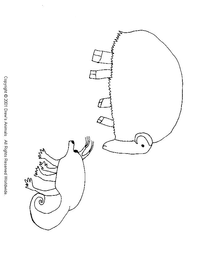 coloring pages of musk ox - photo#28